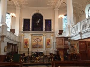 St Botolph Aldgate Interior