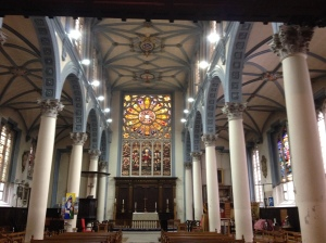 St Katharine Cree Interior