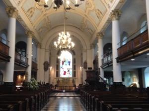 St Botolph Bishopsgate Interior