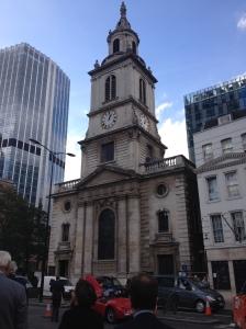 St Botolph Bishopsgate Exterior